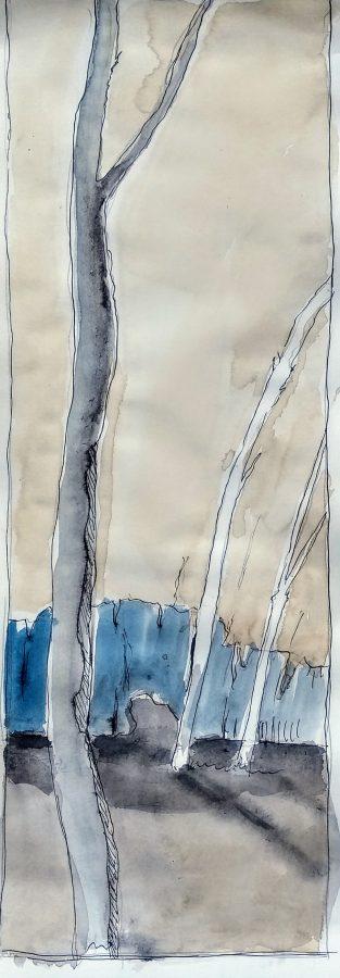 blauer busch